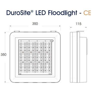 DuroSite® LED Floodlight